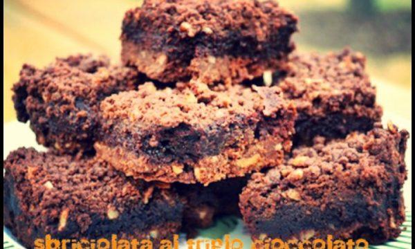 Sbriciolata al triplo cioccolato