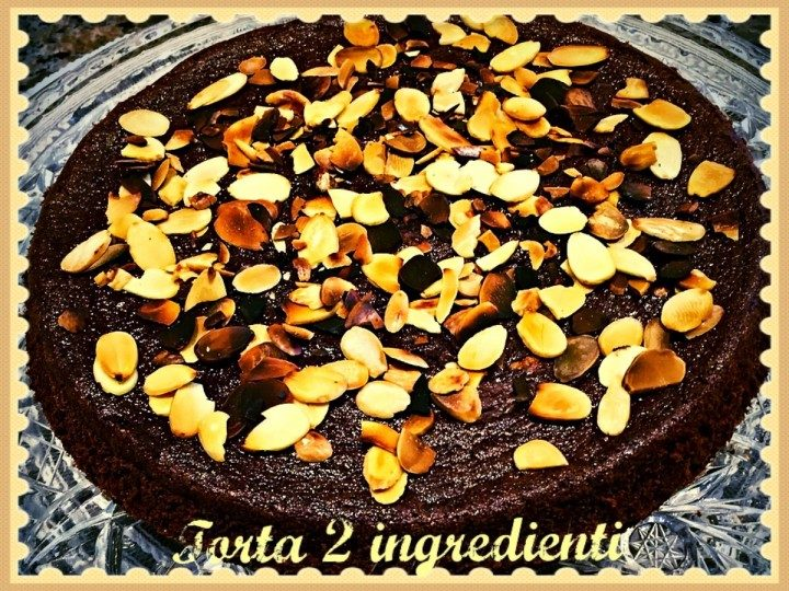 Torta 2 ingredienti
