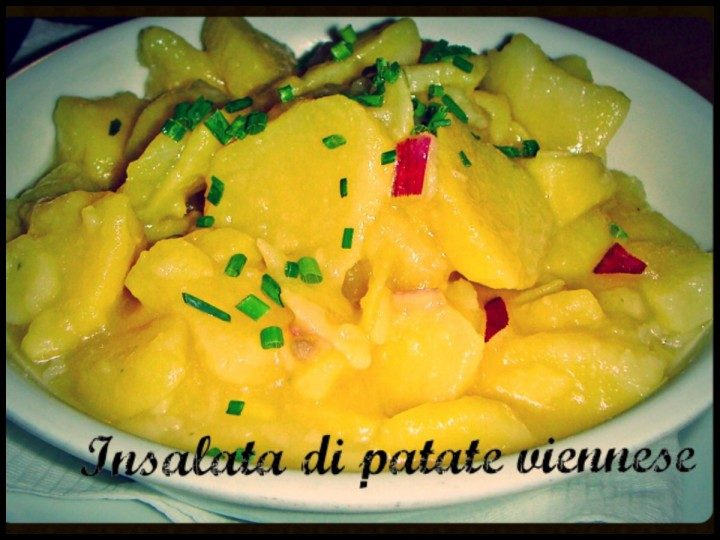 Insalata di patate viennesi