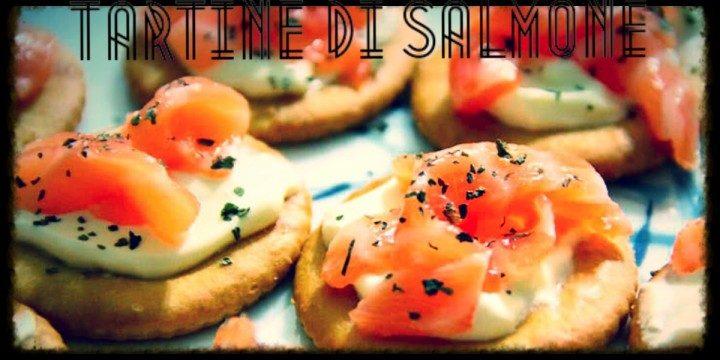 Tartine di salmone