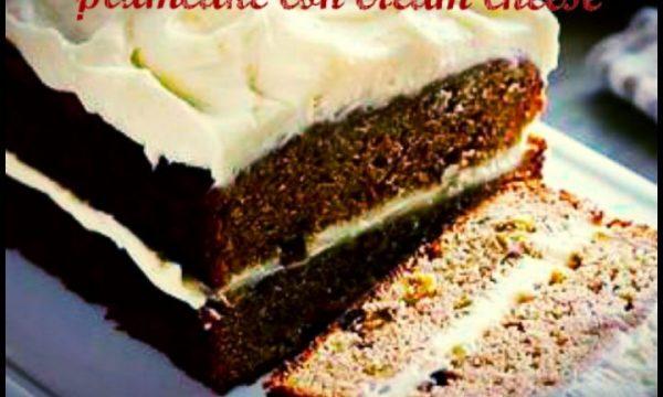 Plumcake con cream cheese