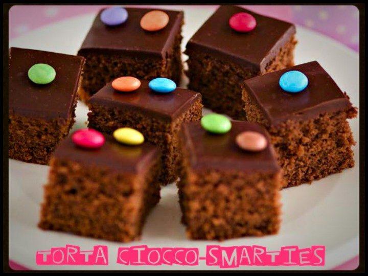 Torta ciocco-smarties