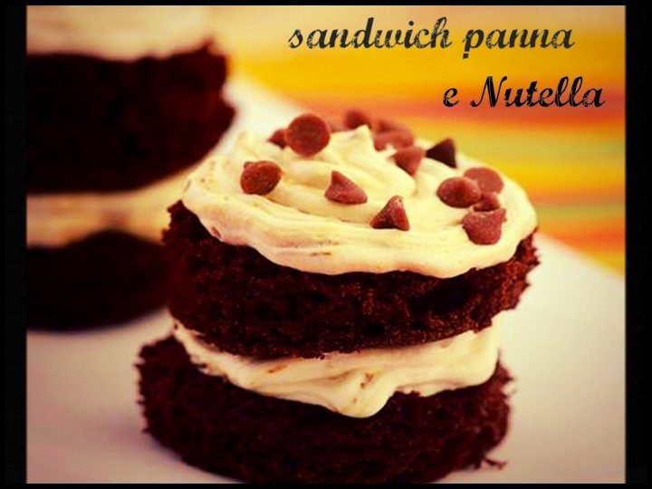 Sandwich panna e Nutella