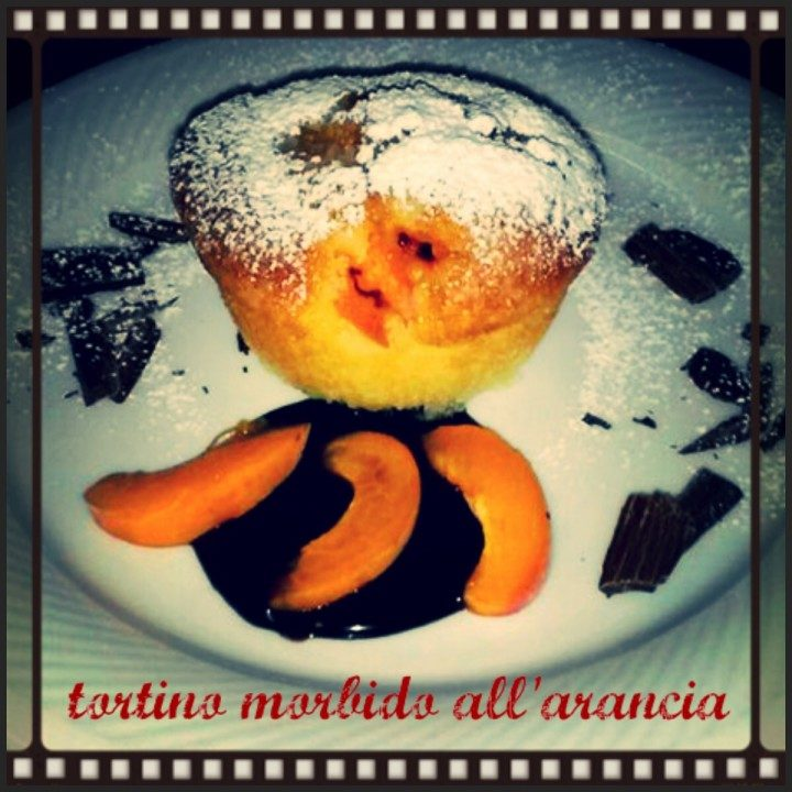 Tortini morbidi all'arancia