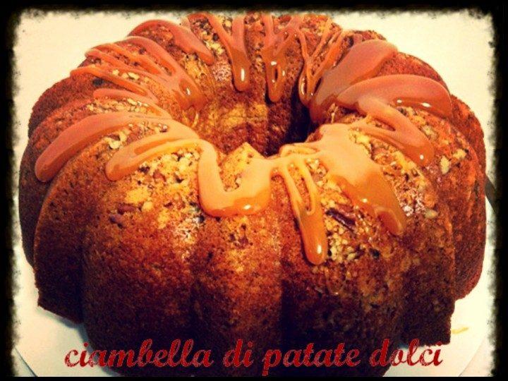 Ciambella di patate dolci