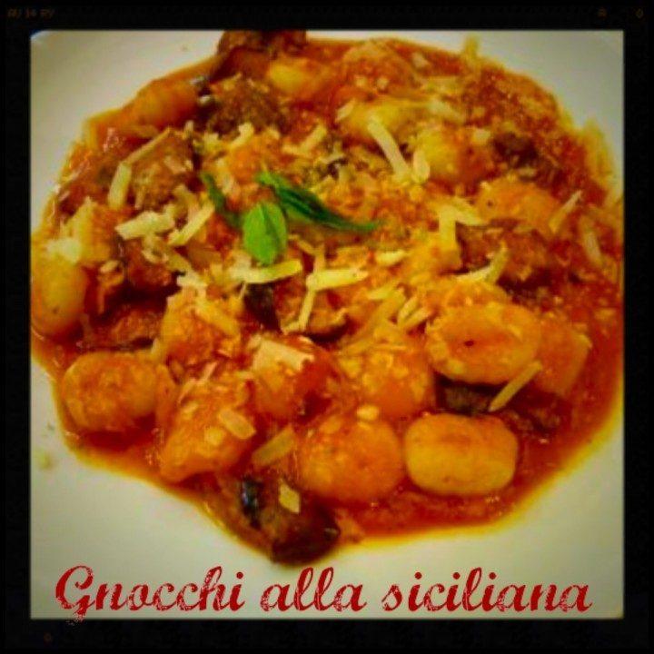 Gnocchi alla siciliana