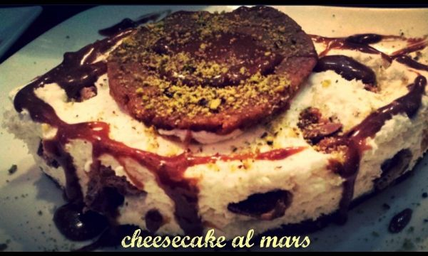 Cheesecake al mars
