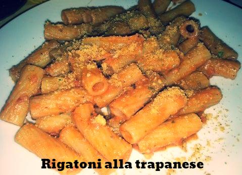 Rigatoni alla trapanese