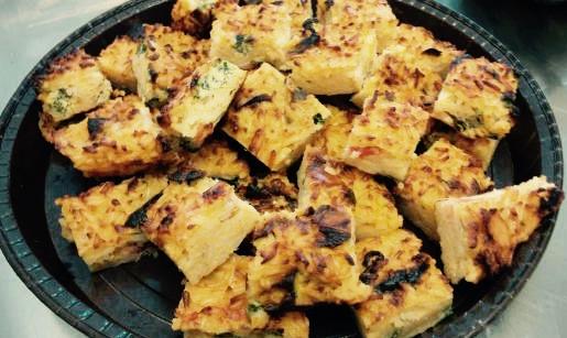 Tortilla di patate e zucchine