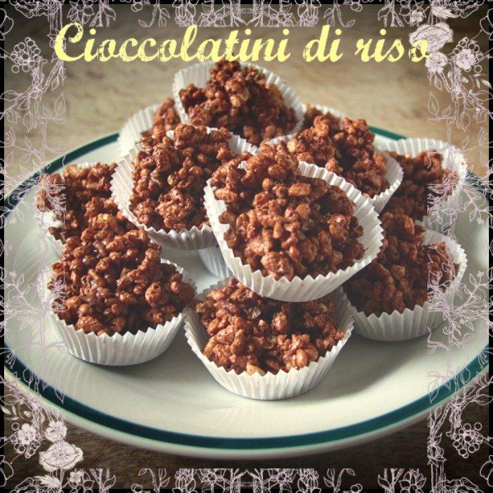 Cioccolatini di riso
