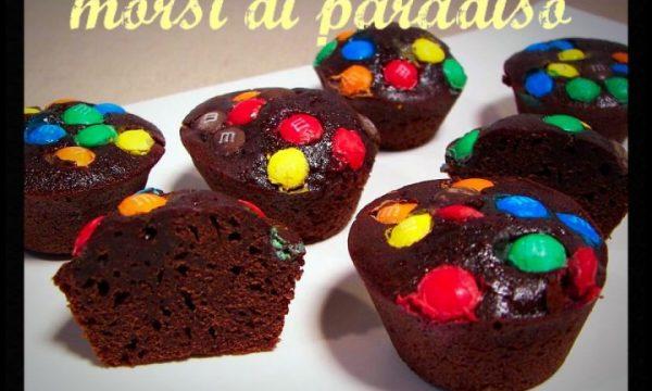 Tortini cioccolato e smarties