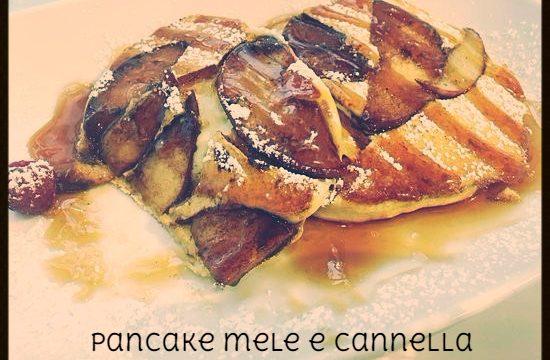 Pancake mele e cannella