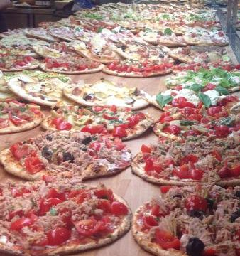 Le migliori pizze al taglio di Roma
