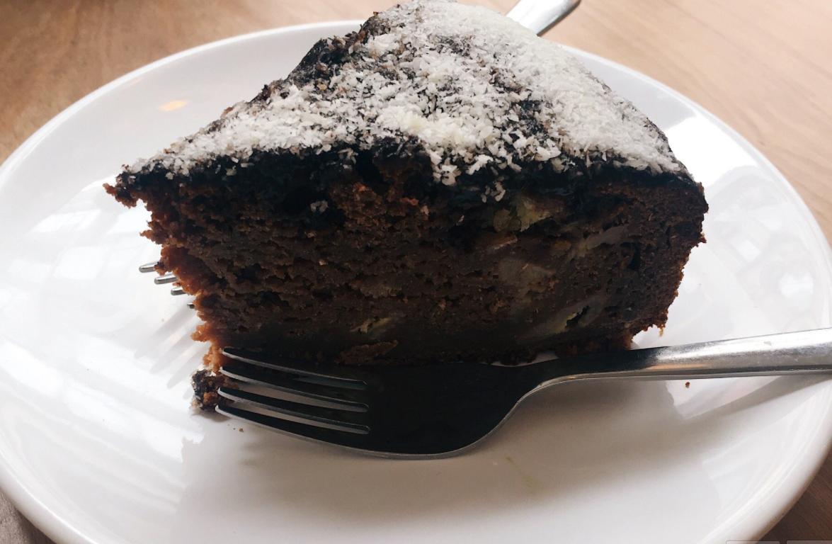 Torta vegana banana e cioccolato | Una cucina da single