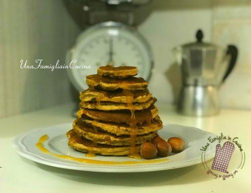 Pancakes integrali aromatizzati all'arancia (senza latte)