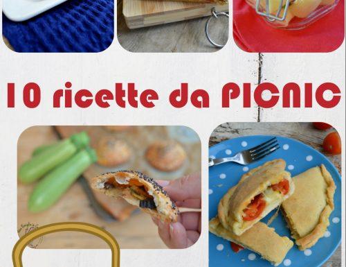 10 RICETTE DA PICNIC