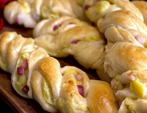 Frustine di pane farcite