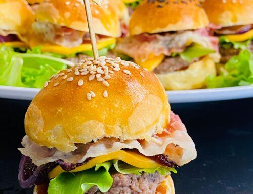 Mini hamburger