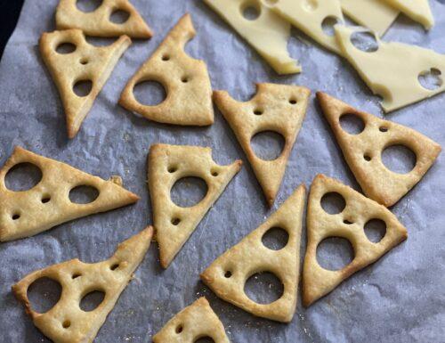 Cracker all'Emmental