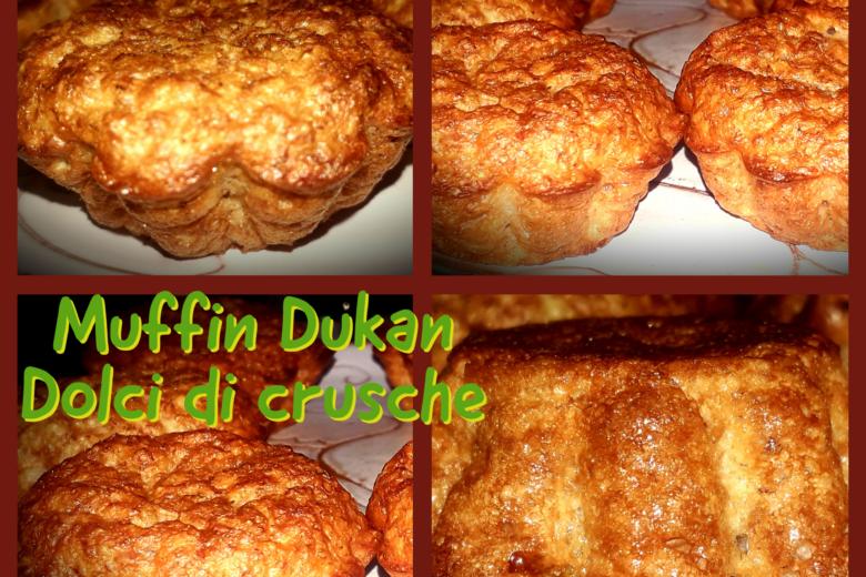 Muffin Dukan dolci di crusche