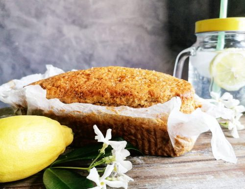 Plum cake light al limone