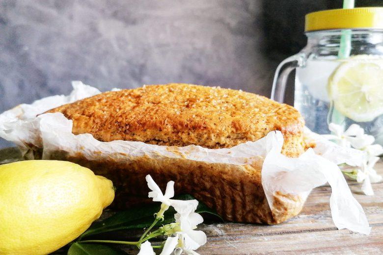 Plum cake light al limone