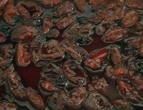 Marmellata di prugne al forno