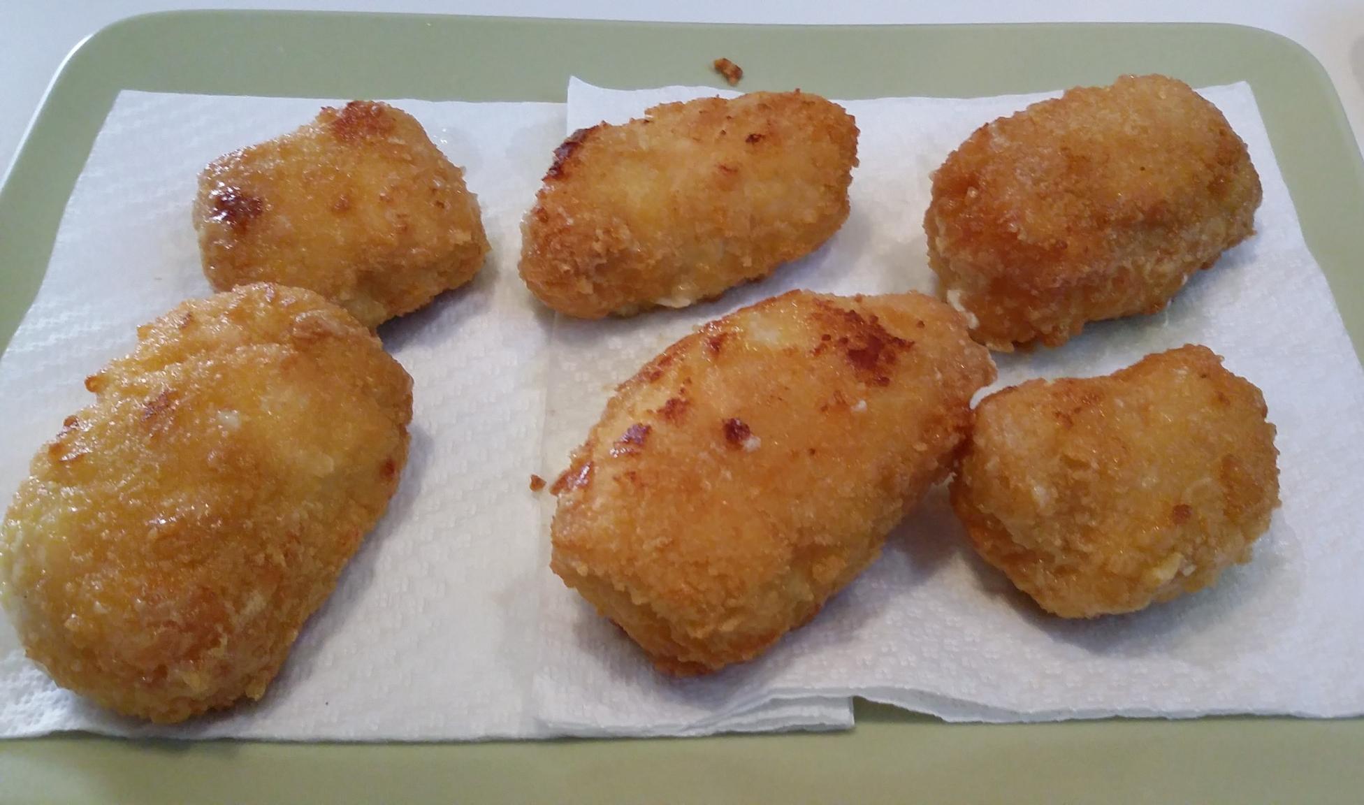 Involtini di pollo, prosciutto e formaggio