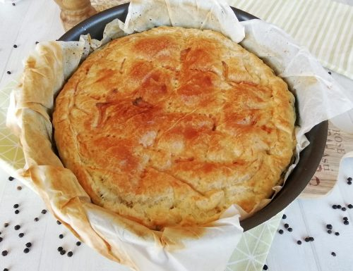 Torta rustica ricotta e spinaci