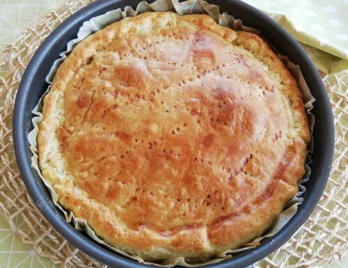 Torta rustica con cicoria