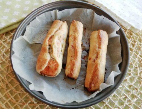 Filetti di salmone in crosta di sfoglia