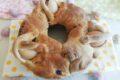 Casatiello rustico napoletano con lievito madre