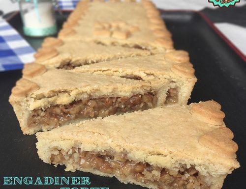 Engadiner Torte, la mia Torta di noci dell'Engadina per il Club del 27