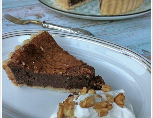 La mia Chocolate Fudge Pie per il club del 27