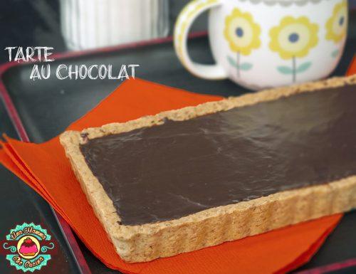 Tarte au Chocolat con frolla Integrale