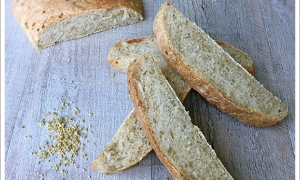 Filone di pane ai Fiori di Sambuco