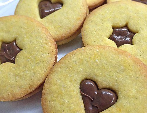 Biscotti farciti alla Nutella