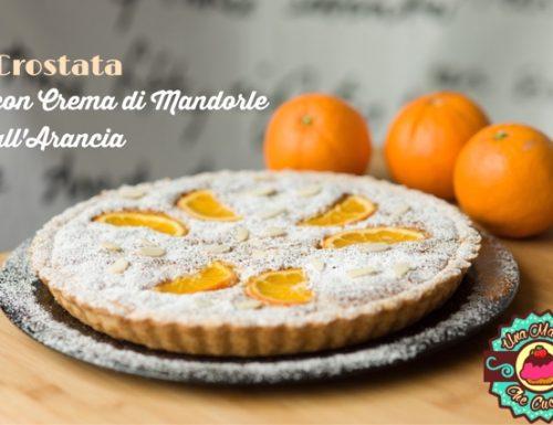Crostata con Crema di Mandorle all'Arancia