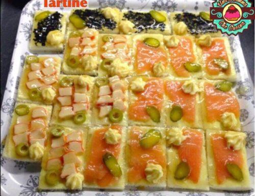 Tartine in Gelatina
