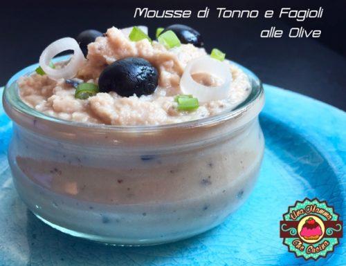 Mousse di Tonno e Fagioli corona alle Olive