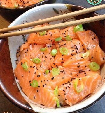 Chirashi di Salmone semplice