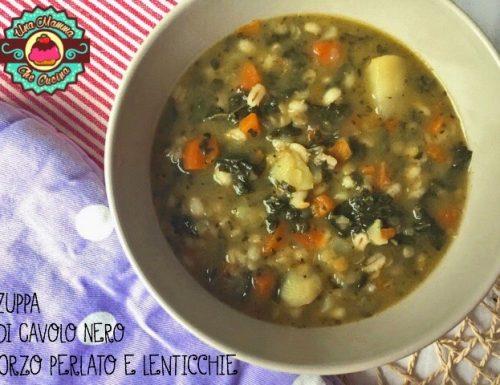 Zuppa di Cavolo Nero, Orzo perlato e Lenticchie