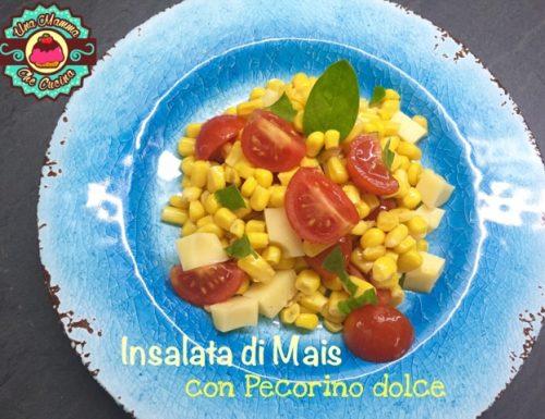 Insalata di Mais con Pecorino dolce e Pomodorini