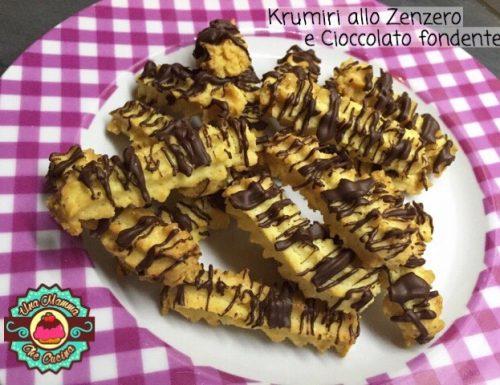 Krumiri allo Zenzero e Cioccolato fondente