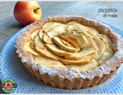 Crostata di mele e confettura speziata