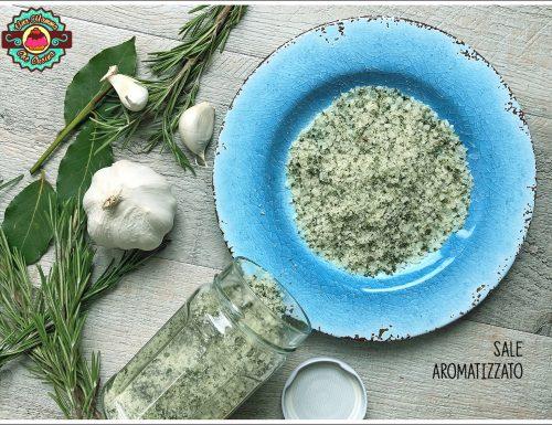 Sale aromatizzato per carni e verdure