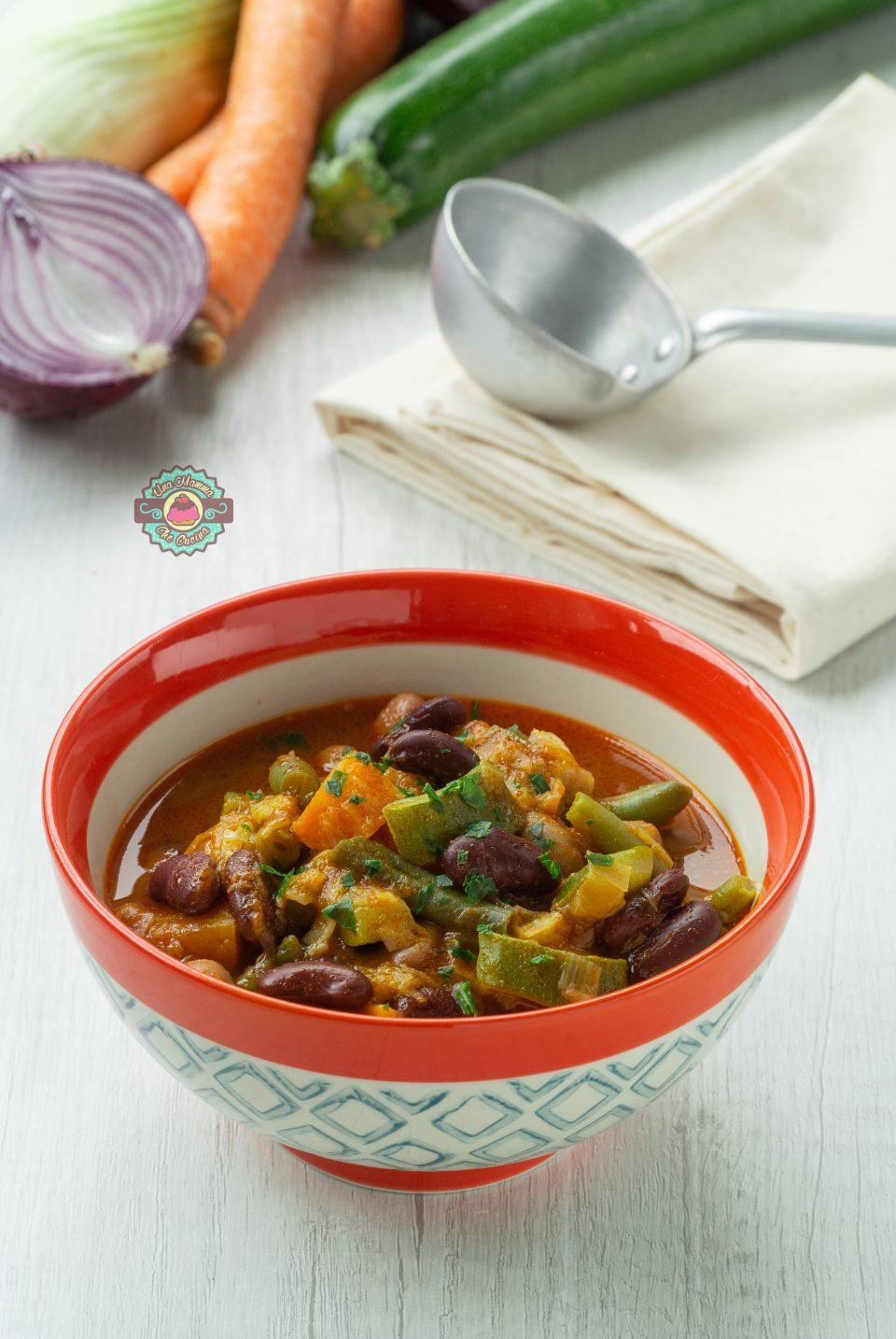Zuppa provenzale con paprika affumicata