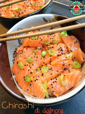 Chirashi di Chirashi di Salmone semplice Salmone