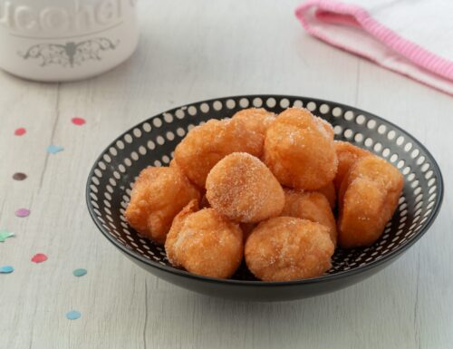 Frittelle di carnevale – ricetta facile