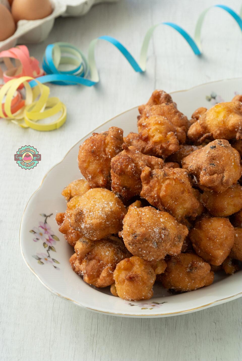 Frittelle veneziane con esubero di Licoli